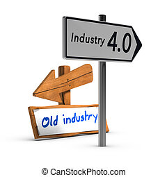 Industry 4.0 vs Old Industry