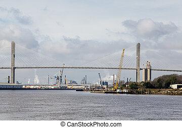 Industry at Savannah Bridge