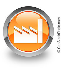 Industry giant glossy icon - Industry giant icon on glossy...
