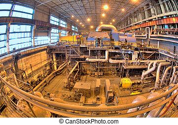 Industry Installations power. Power Turbines