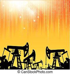 industry., olie