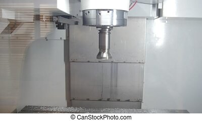 Industry process of metal working and machine manufacturing - automotive drilling machine