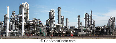 industry - panorama image of Chemical factory