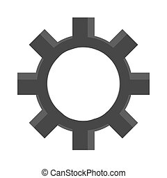 industry wheel cog, industrial icon