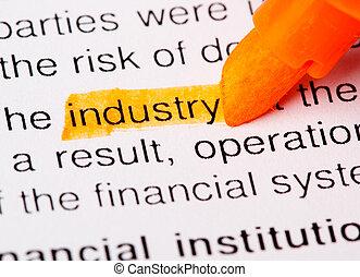 industry word