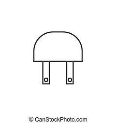industy, relay, illustratie, vector, ontwerp, pictogram, schets