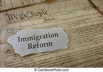 indvandring, reform, overskrift