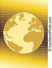 Inet Globe - The networked globe.
