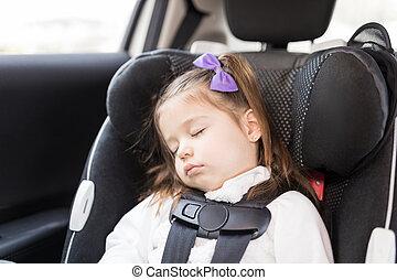 Infant Sleeping In Car