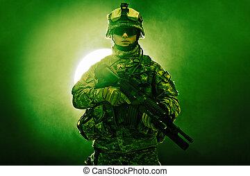 infanterie, zerstreut