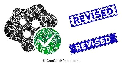 Infected Mosaic and Grunge Rectangle Revised Watermarks - ...