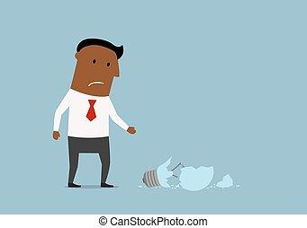 infelice, uomo affari, idearfg5mnvbxxzdfsaaa, rotto