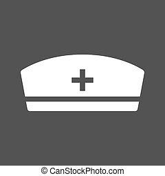 infermiera, berretto