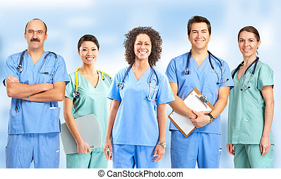 infermiere, dottori
