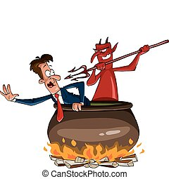 infernal, cauldron