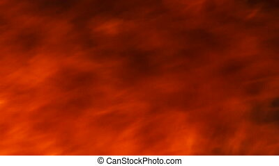 Inferno fire abstract background texture - Slow motion...