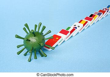 infezione, coronovirus, epidemia