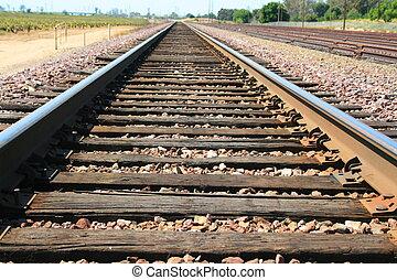 infini, chemin fer