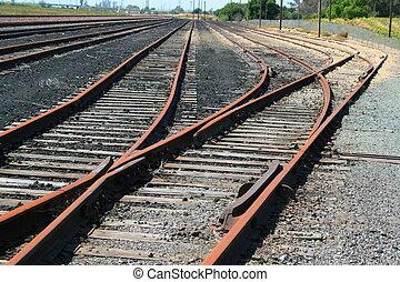 infini, chemins fer