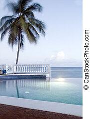 infinidade, ilha, milho, nicarágua, piscina, natação