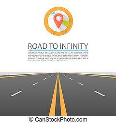 infinità, strada