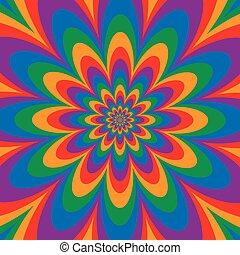 Infinite Flower Color Spectrum