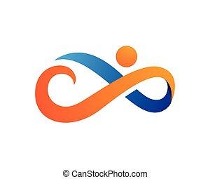 Infinity logo - Infinity Design,Infinity logo,Vector Logo...