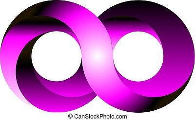 Infinity icon symbol design vector illustration