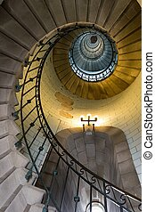 Infinity lighthouse stairs