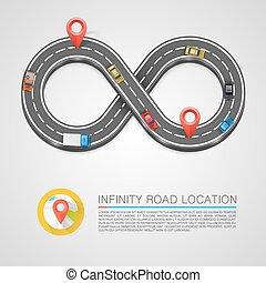 Infinity Road location