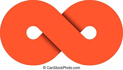 Infinity symbol icon. Representing the concept of infinite,...