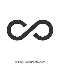 Infinity vector icon