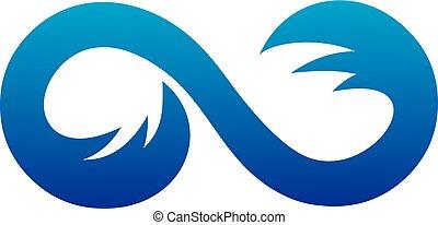 Infinity Waves logo