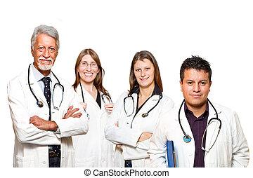 infirmière, docteur