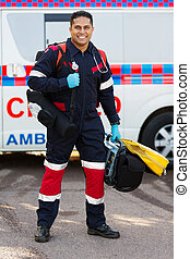 infirmier, monde médical, porter, portable, equipments
