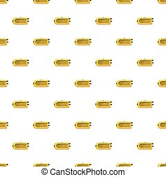 Inflatable boat pattern seamless repeat in cartoon style...