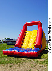 Inflatable slide - Fun and big inflatable slide for kids