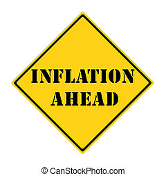 Inflation Ahead Sign