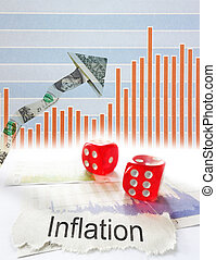 inflation, pil oppe