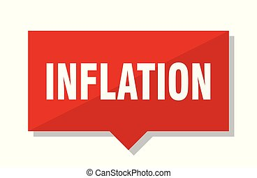 inflation red tag
