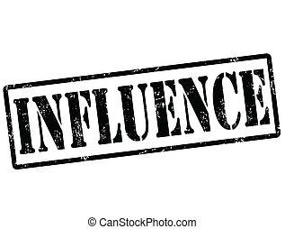 Influence stamp