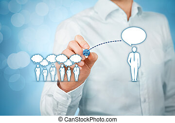 Influencer and opinion leader - Influencer, opinion leader,...