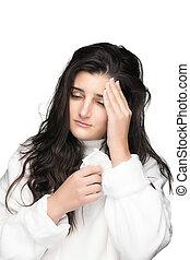 influenza., アレルギー, flu.