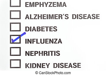 influenza and other kind of diseases result