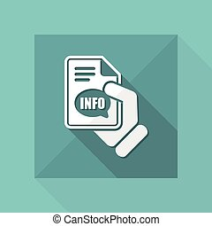 Info button icon