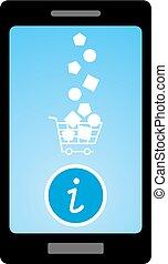 info buy mobile button