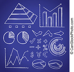 info chart doodle