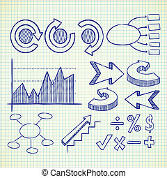 info chart doodle - info chart doodle