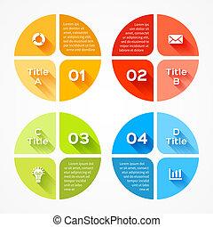 info, gráfico, negócio, modernos, projeto, vetorial