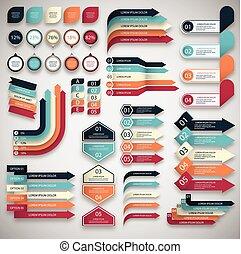 info graphic set